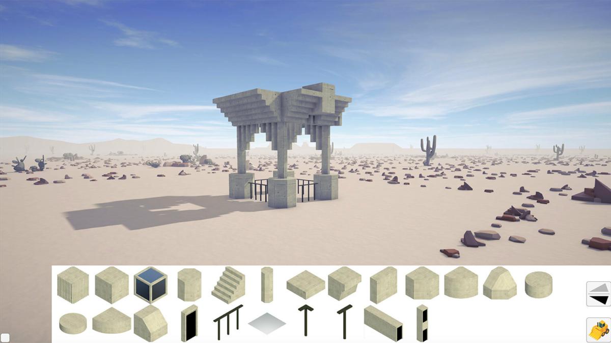 Concrete Bricks – Desert 3