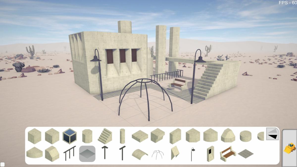 Concrete Bricks – Desert 4
